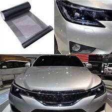 Black Tint Vinyl Film Auto Car Smoke Fog Light Headlight Taillight Sheet Sticker
