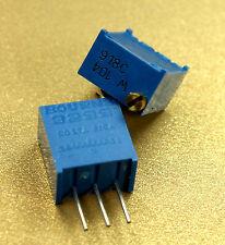 Bourns 3299W-1-104 100k ohms .5 Watts, 25 turns, Trimmer Potentiometer PCB