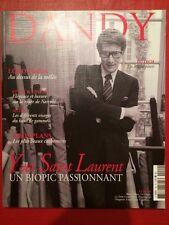 Magazine DANDY French Mode Men - Yves Saint Laurent - Loro Piana - Auto
