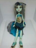 Monster high frankie stein 13 wishes jointed articulated doll figure rare a