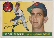 DON MOSI #85 (RC) 1955 TOPPS MID-GRADE SET BUILDER NO CREASE*****