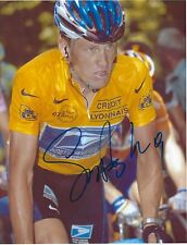 AUTOGRAPH 8X10 W/COA    LANCE ARMSTRONG  BOLD SIG