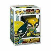 Funko Pop! Marvel Zombies Wolverine GITD Vinyl Figure - EE Exclusive IN STOCK