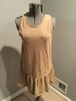 Free People Beach Neutral Cover Up  Size XS Size S A4