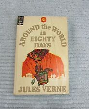 Old 1967 Around The World In Eighty Days Jules Verne Dell Laurel Leaf FREE S/H