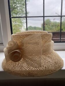 Straw Hat - Wedding / Races. By Accessorize.