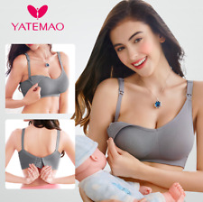 Breastfeeding Pregnant Bra Underwear Women Wire Free Nursing Bra Maternity Cloth