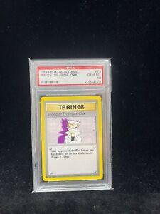 Pokemon Base Set Imposter Professor Oak 73/102 - 1999-2000 Print - PSA 10