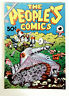 THE PEOPLE'S COMIC 1972 R CRUMB DEATH FRITZ VG ADULT UNDERGROUND COMIX 1st Print