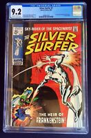 Silver Surfer #7 CGC 9.2 NM SILVER AGE ISSUE Stan Lee Story John & Sal Buscema