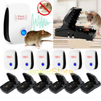 Ultrasonic Pest Repeller Mice Reject &Rat Traps Killer High Sensitive Mouse Trap