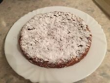Big Delicious Nutty And Fruity Italian Homemade Cake Called Panforte 11 Inch