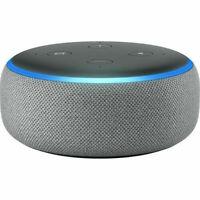 NEW Amazon Echo Dot (3rd Generation) with Alexa - Smart Speaker - Grey