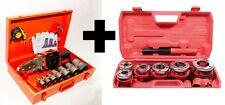 Schweißgerät Pe-Rohr 2,6KW Muffenschweißgerät  + Gewindebohrer Gewindeschneider