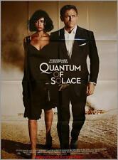 QUANTUM OF SOLACE Affiche Cinéma / Movie Poster JAMES BOND DANIEL CRAIG