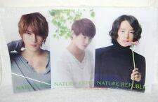 JYJ JEJUNG/YUCHUN/JUNSU Nature Pepublic Promo 3-Folder (ClearFile)