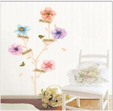 Flower Story Decal  Wall Art Home Paper Wall Sticker