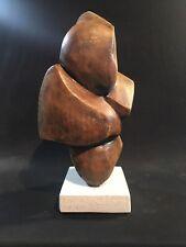 Modern Abstract Cement Sculptures