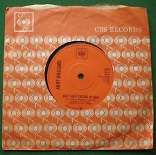 "Andy Williams Can't Help Falling in Love / Sweet Memories CBS 4818 7"" Single"