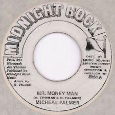 "Michael Palmer/ Jah Thomas(7"" Vinyl)Mr Money Man/ Money Dub-Midnight Ro-Ex/VG"