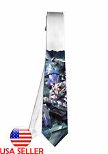Gundam 00 Exia Necktie Neck Tie Men Boys Halloween Tie Cosplay Anime Gift