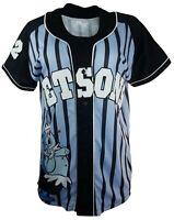 The Jetsons Rosie 62 Baseball Striped Raglan Short Sleeve Jersey | M (40)