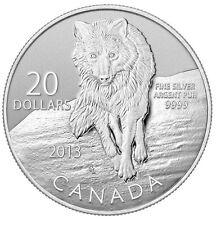 $20 Fine Silver Coin Wolf (2013)
