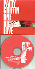 PATTY GRIFFIN One Big Love 3TRX w/ RARE EDITS PROMO Radio DJ CD single USA 1998