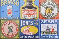 Fliesen 10x10 als Küchenfliesen Englische Art mit Werbeartikeln