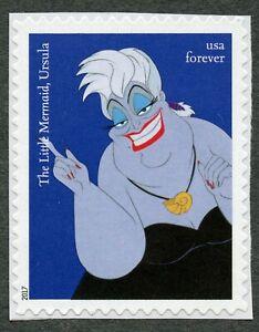 Disney: Ursula (The Little Mermaid), 2017 United States, Scott #5220