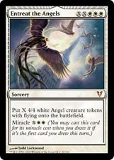 ENTREAT THE ANGELS Avacyn Restored MTG White Sorcery MYTHIC RARE