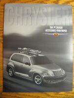 2001 Chrysler PT Cruiser Accessories ORIGINAL Prestige Brochure Mopar