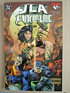 2000 DC & TOP COW COMICS JLA/WITCHBLADE TRADE PAPER BACK TPB