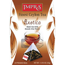 "Impra ""Exotica"" black tea with masala chai pieces"