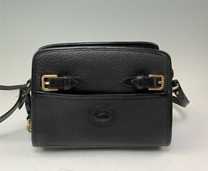 Dooney & Bourke Black Leather Purse With Shoulder Strap