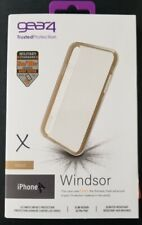 "Gear4 Cover Case Windsor 5.8"" Gold, Transparent – For Apple iPhone X/XS NEW"