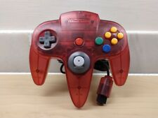 Nintendo 64 N64 Official Controller - Rare Funtastic Watermelon Red *Good Stick*