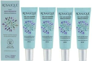 Rosalique 3 in 1 Anti-Redness Miracle Face Moisturiser Anti Ageing Formula 30ml