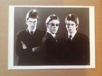 """The Jam Rare Original 10""""x8"""" Press Promo Photo + Stickers Mod Punk 2Tone The Who"""