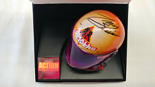 NASCAR Tony Stewart Signed Small Soldiers 1:4 Mini Helmet JSA COA