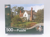 Grafix 500 Piece Jigsaw Puzzle Cottage In The Countryside Complete Free Post