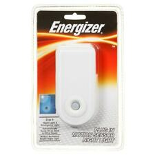 Energizer Plug In LED Motion Sensor Night Light Rechargeable Emergency Light