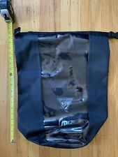 Seattle Sports Dry Bag, Large, Kayak Bag, Black With Clear Panel