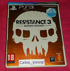 RESISTANCE 3 EDITION SPECIALE SONY PS3 TRES BON ETAT VERSION FRANCAISE