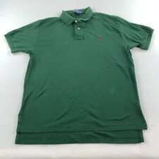 New listing Ralph Lauren Polo Shirt Adult Extra Large Green Red Pony Casual Rugby Mens