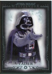 Star Wars Masterwork Premium Base Card #1 Darth Vader