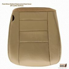 2002 03 04 2005  Ford F250 F350 Lariat Driver Bottom Seat Cover Tan Color Vinyl