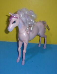 2005 Mattel Barbie Magic of Pegasus Brietta Purple Pink Horse Toy - No Wings