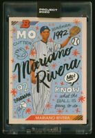 Topps PROJECT 2020 MARIANO RIVERA by Sophia Chang card 8 IN-HAND!