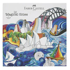 Faber-Castell Colouring Book, Magical Cities